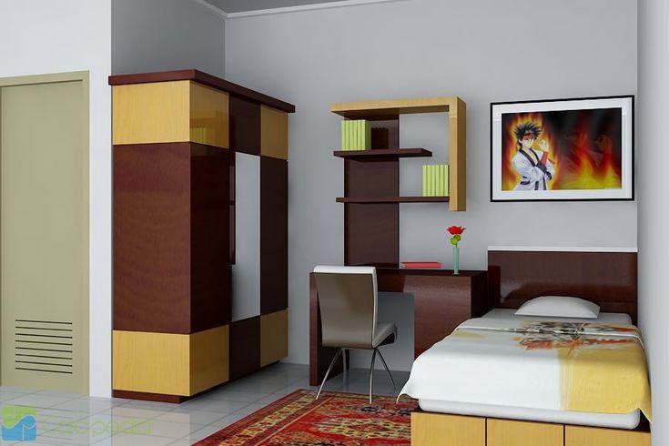 nice Model Kamar Tidur Minimalis Simple Terbaru 2015 Desain Kamar Tidur Rumah-Minimalis