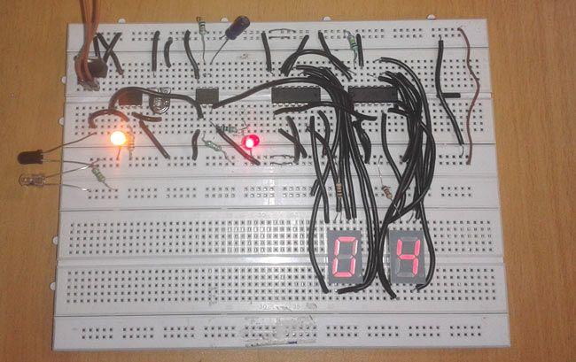 Police Siren Circuit Digital Circuit