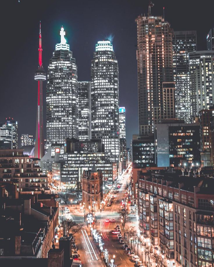 Toronto at Night! 2017