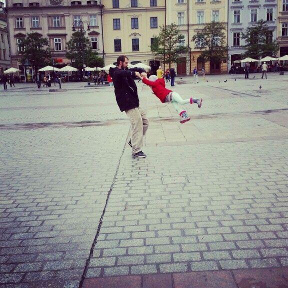 #dzientaty #córka #dziecko #tata #zabawa #krakow
