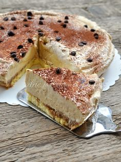 Semifreddo al tiramisu dolce al caffe ricetta vickyart arte in cucina