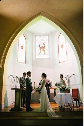 Sarah & Matt / Daylesford Convent / Rose Zurzolo Couture