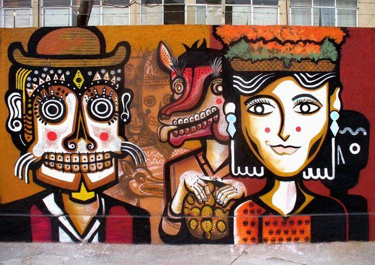 Mexican Graffiti Aritst - Neuzz