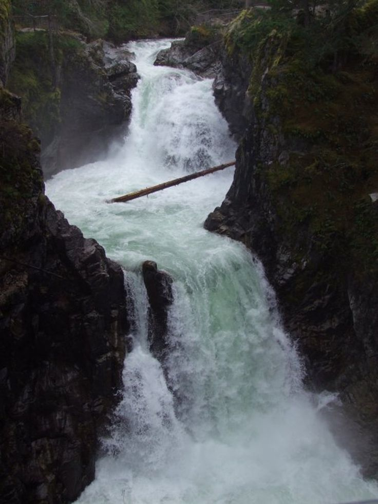 Spectacular views await at this picturesque Little Qualicum Falls Provincial Park filled with waterfalls, rock cliffs, shaded trails and swimming holes.