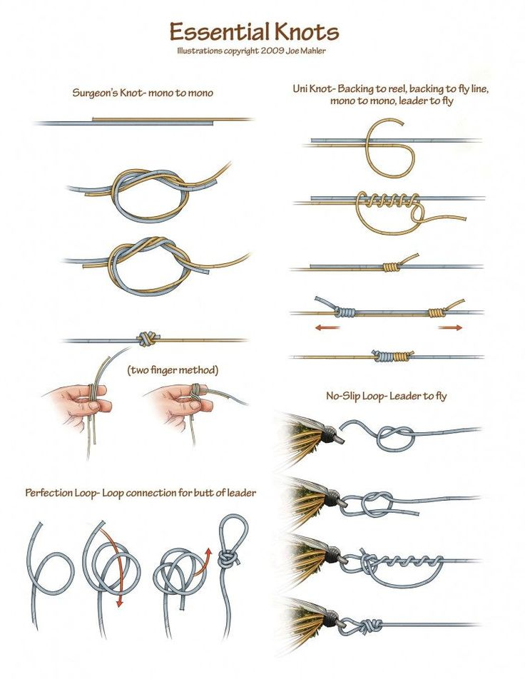 Top 25 best fly fishing knots ideas on pinterest for Easy fishing knots