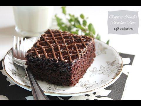 Eggless Nutella Chocolate Cake - MunatyCooking