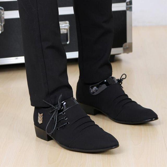 Hombres como una oficina de los hombres zapatillas de deporte de moda zapatos Oxford zapatos de cuero masculino sapatos zapatos oxford de los hombres zapatos de negocios