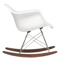 eames: Baby Lentils, Eames Rocking Chair, White Eames, Rocking Chairs, Interiors White, Fiberglass Rockers, Eames Rockers, Interiors Design, Eames Rocks Chairs