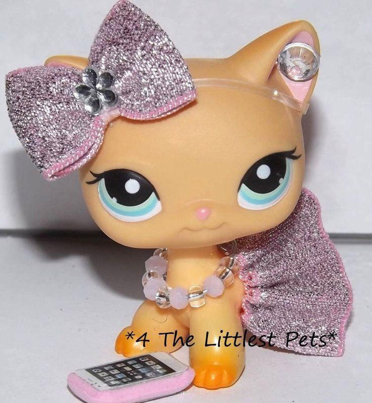 Littlest Pet Shop Clothes Lps Accessories Custom Skirt Bow