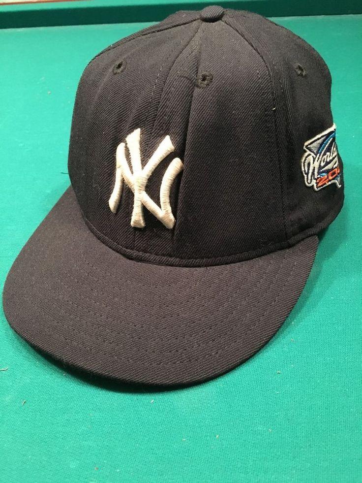 NY Yankees New Era 59Fifty Fitted Cap 2000 World Series Size 7 100% Wool USA #NewEra #NewYorkYankees