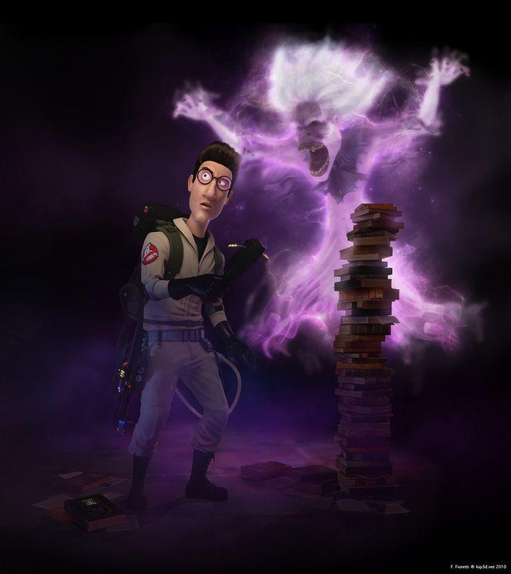 Ghostbusters - Egon Spengler by Kipkiopkia.deviantart.com on @deviantART