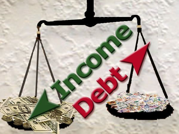 Debt-to-Income Ratio Worksheet -- use this worksheet to calculate your debt-to-income ratio. Lenders look at this ratio when they are trying to decide whether to lend you money or extend credit. Personal Finance tips