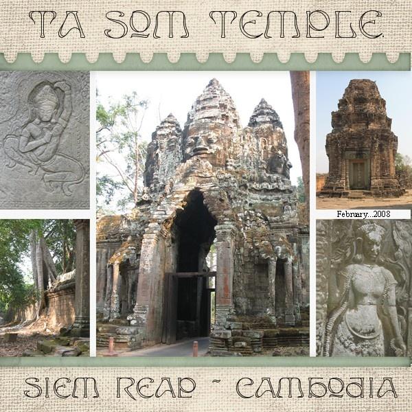Ta Som Temple, Cambodia - Scrapbook.com