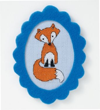 fox x-stitch