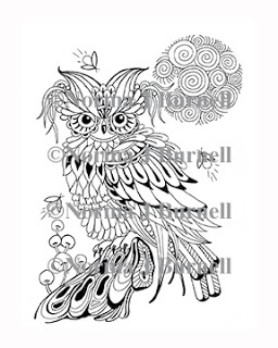 fairy tangles coloring pages - 44 beste afbeeldingen over zentangles norma j burnell