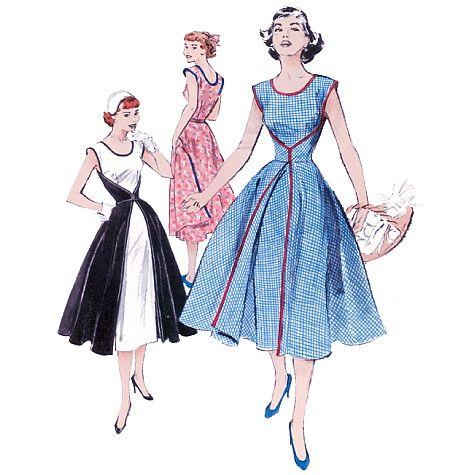butterick 4790 - walkaway dress