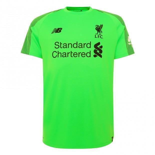Liverpool Football club New Balance GOALKEEPER AWAY 2018-2019 Home FÚTBOL  SOCCER KIT CALCIO SHIRT a602cc974