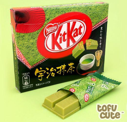Buy Japanese Kit Kat Uji Matcha - Gift Box 3-pack at Tofu Cute