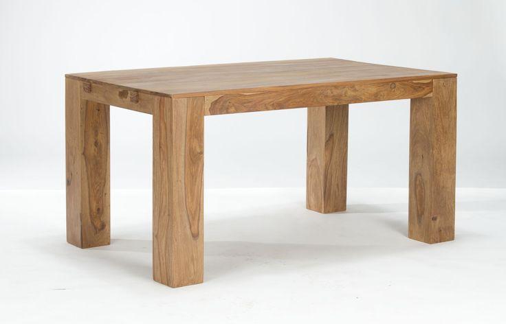 Table STARK 146x90 avec rallonges en palissandre teck