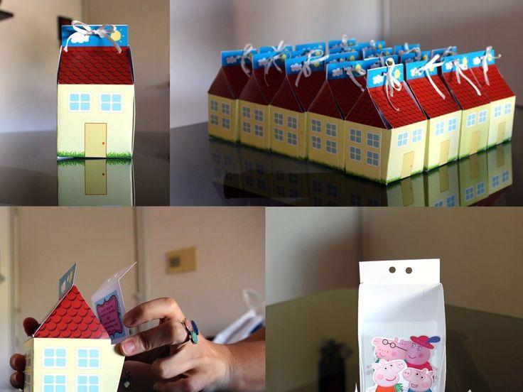 Hice para el cumpleaños de mi hija tarjetas 3D de Peppa Pig (Comparto el molde) Mi hija que cumplió 3 quería su cumpleaños de Peppa Pig (es muy original ella….), pero al elegir la tarjeta me explicaba con sus manos regordetas que no las quería...