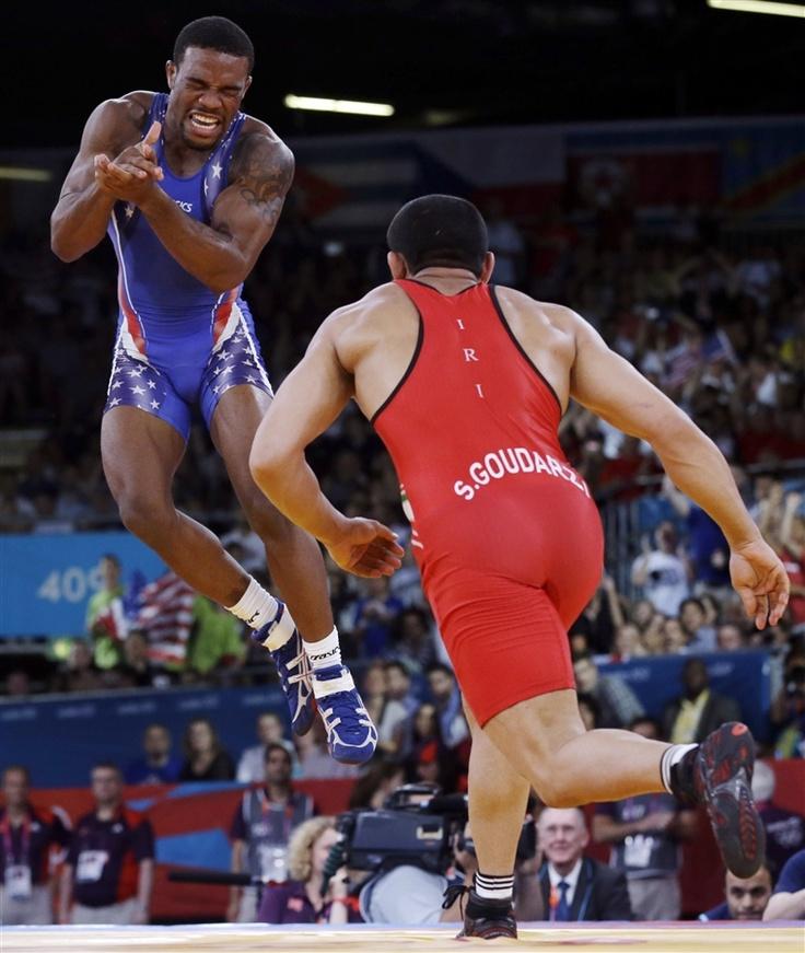 Jordan Burroughs Wins Gold - PhotoBlog