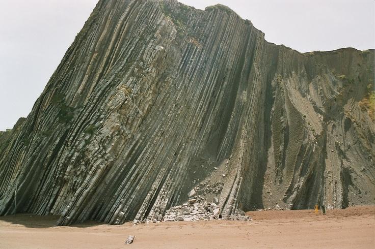 Zumaia Beach, Basque Country, Spain