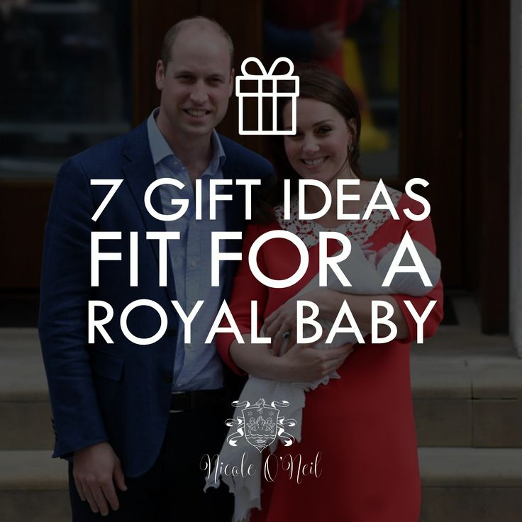 It's a Boy - 7 Gift Ideas for a Royal Baby