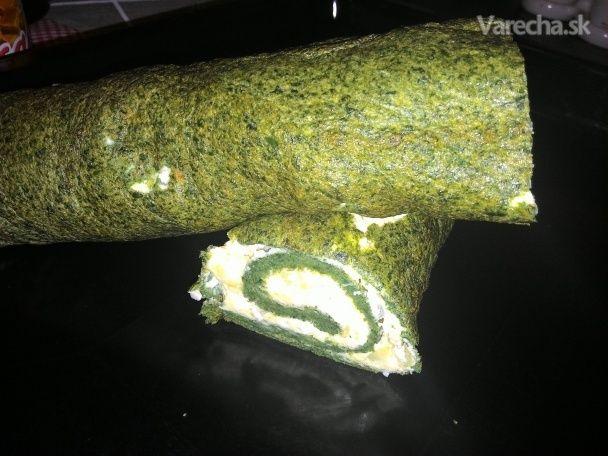 Špenátová roláda (fotorecept) - Recept