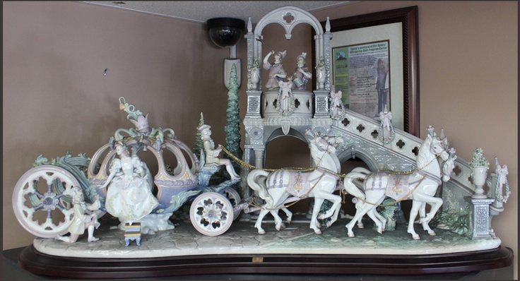 Limited Edition Lladro Cinderella S Arrival With Box 1785