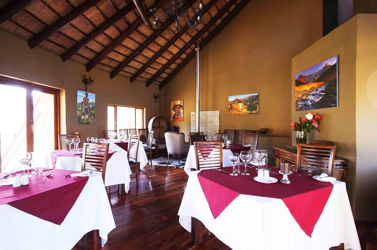 Maliba Lodge Restaurant #Lesotho #MalibaLodge