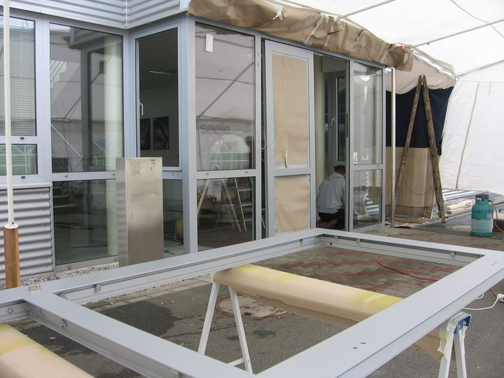 Zpětná montáž skleněných výplní, #oprava, #lakování, #dveře, #zárubně, #obložky, #repair, #Instandsetzung, #Reparatur, #okno, #aluminium, #elox, #hliník