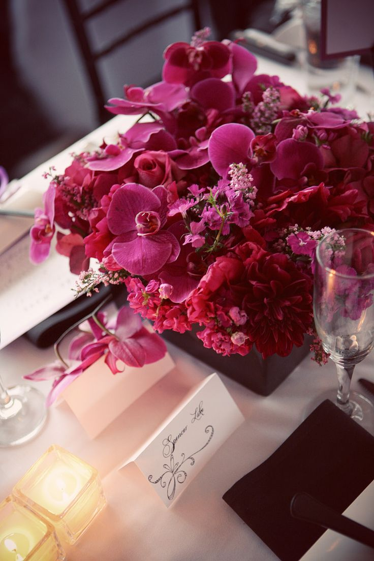 Best images about magenta weddings on pinterest