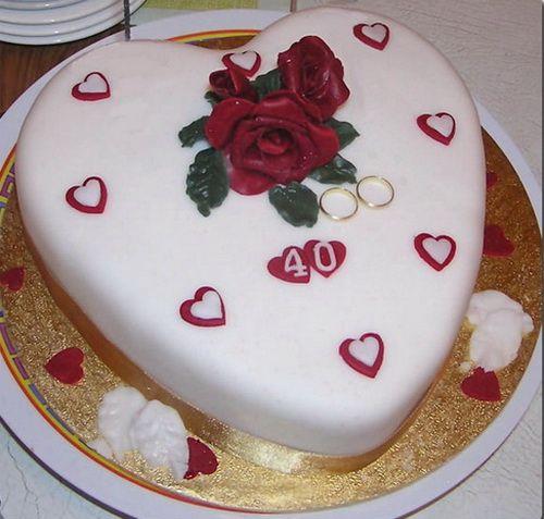 Simple Anniversary Cake Ideas