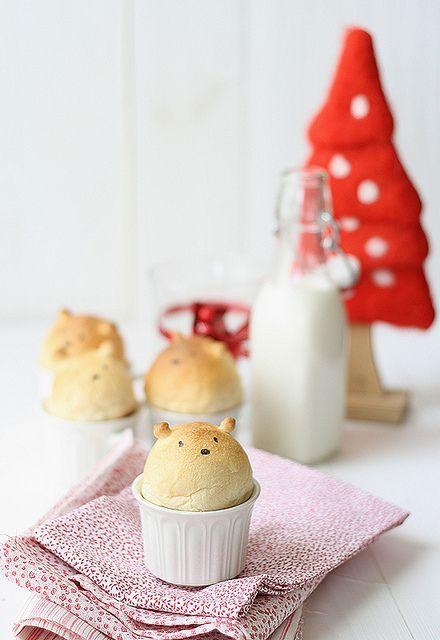 teddy bear bread!
