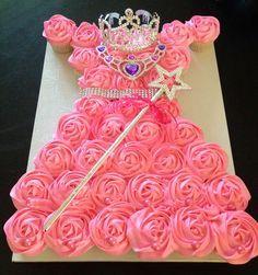 Princess Cupcake Dress Tutorial ! Can use for all Disney & Princess Parties !