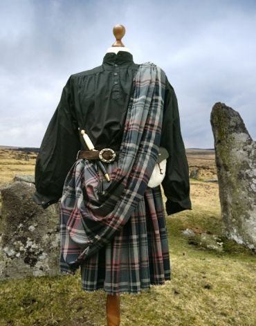 Kilt Schottenrock Herren Mit Plaid For Men With