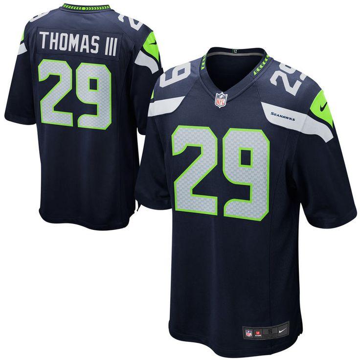 Earl Thomas III Seattle Seahawks Nike Game Jersey - College Navy