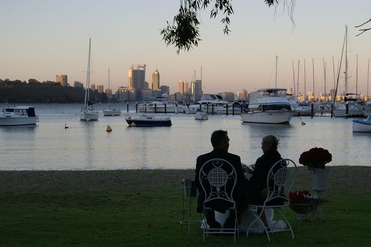 Stunning views of Perth City and the Swan River.