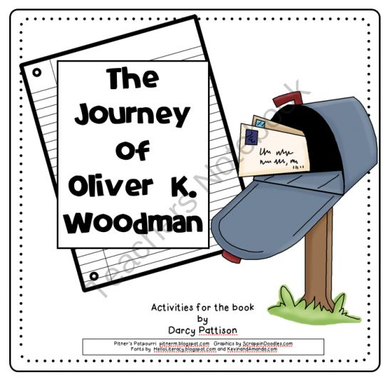 Classic children's picture book, The Journey of Oliver K. Woodman (Compatible with Journeys 3rd grade basal) from Pitners Potpourri on TeachersNotebook.com -  (44 pages)  - 14 activities compatible w/Journeys 3rd gr. basal: punctuating dialogue, suffixes, possessives, discussion, formal/informal language, syllables, definitions, sequencing, questioning, drawing conclusions, research, opinion and narrative writing, & more