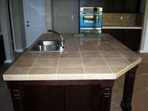 41 best images about kitchen countertop ideas on for Kitchen ideas with porcelain countertops