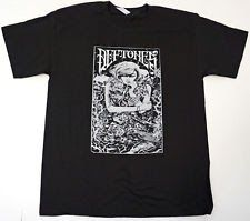 DEFTONES T-shirt Rock Nu Metal Tee 100% Cotton Adult Black New