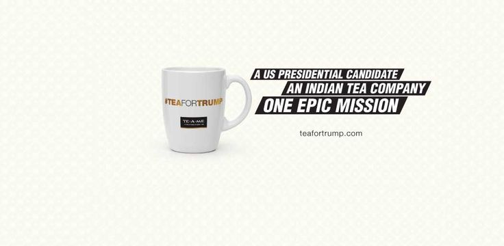 "Indian Green Tea Brand Sends Consignment to ""Purify"" Trump"