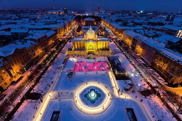 Zagreb Christmas Market More On Https Www Europeanbestdestinations Com Christmas Markets Za Christmas Markets Europe Best Christmas Markets Christmas Market