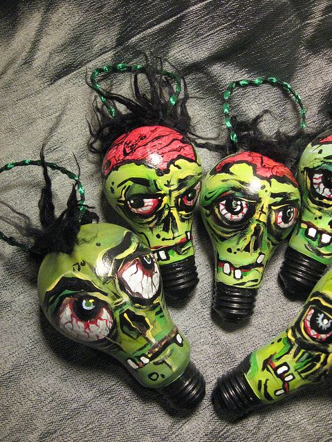 Zombie ornaments | Flickr - Photo Sharing!