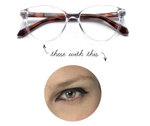 Cat Eyeliner Makeup Ampersand Rivet Sway Glasses