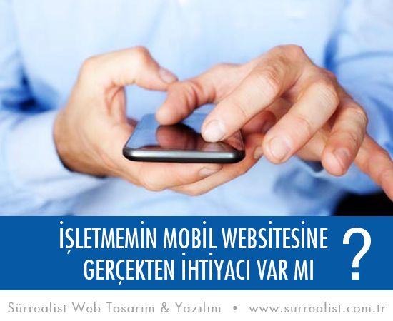 Yapılan araştırmalara göre internet trafiğinin %13'ü mobil cihazlardan gelmektedir ve bu oran gün geçtikçe artmaktadır. Artık kullanıcılar internette aradıkları bilgiyi anında cep telefonlarından bulmayı tercih etmektedir. Bu da gösteriyorki özellikle işletmeler için ... [devamı yazımızda,resme tıklayınız]
