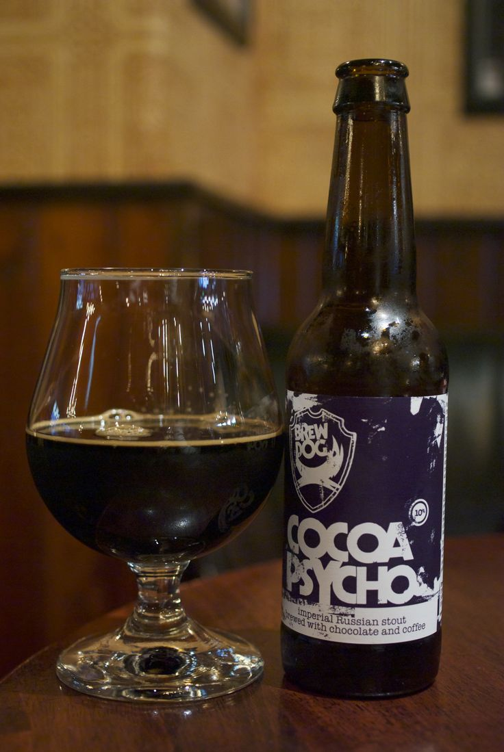 BrewDog Cocoa Psycho   Russian Imperial Stout