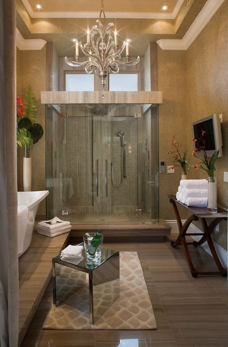Silver Sunrise   tropical   bathroom   orlando   Silver Sea Homes lol  it s  so beautiful it s almost ridiculous 459 best Bathrooms of awesomeness images on Pinterest   Bathroom  . Luxurious Baths. Home Design Ideas
