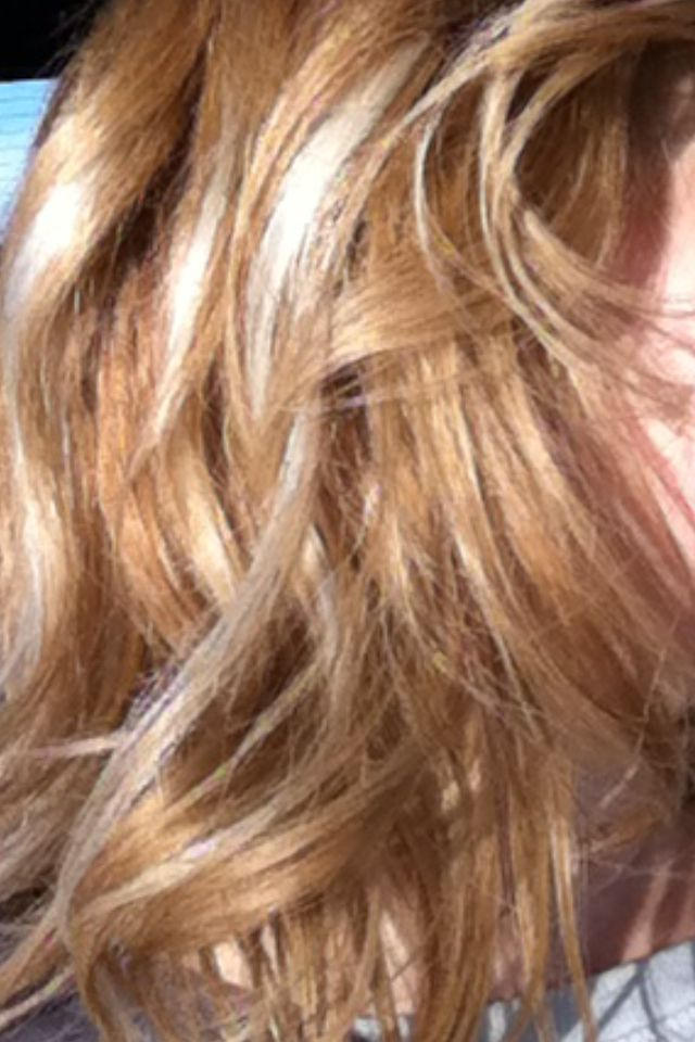 My Hair Right Now In Between Going Blonde Again It S