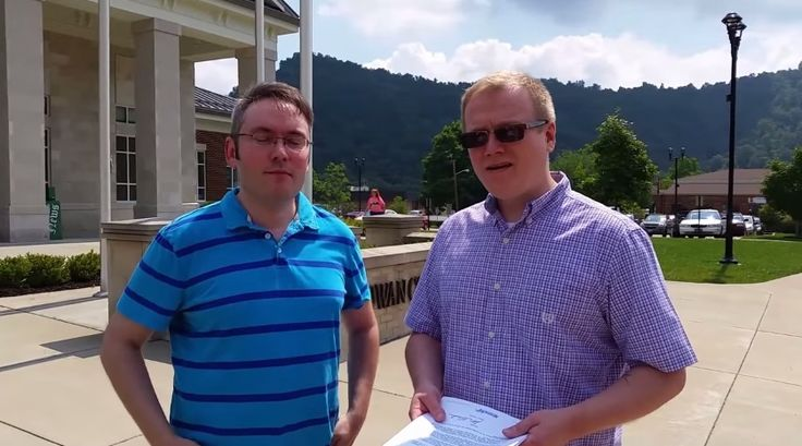 A Kentucky Gay Couple Requested Marriage License In Vain - #news #fight #love #cause #gay #lgbt #video #events #kentucky #couple #requested #marriage #license #county #same-sex #denied #rowan #county #facebook #police